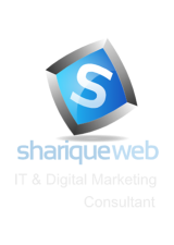 ShariqueWeb Footer Logo
